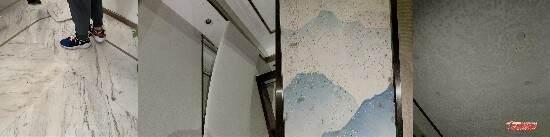 江苏沭阳中梁国宾府小区交付不久就出现房屋漏水、车库积水