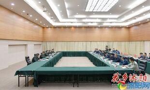 沭阳县召开军地共建工作座谈会