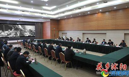 卞建军主持召开十二届县委常委会第147次会议